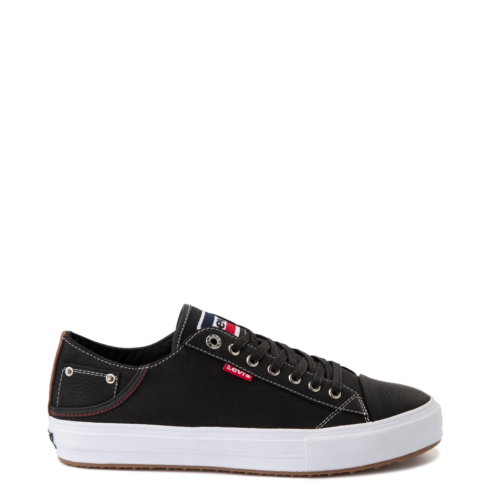 Mens Levi's Olympic Neil Casual Shoe - Black Denim