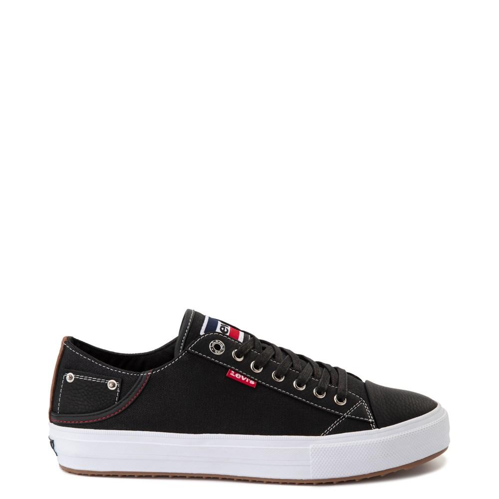 Mens Levi's Olympic Neil Casual Shoe - Black Denim