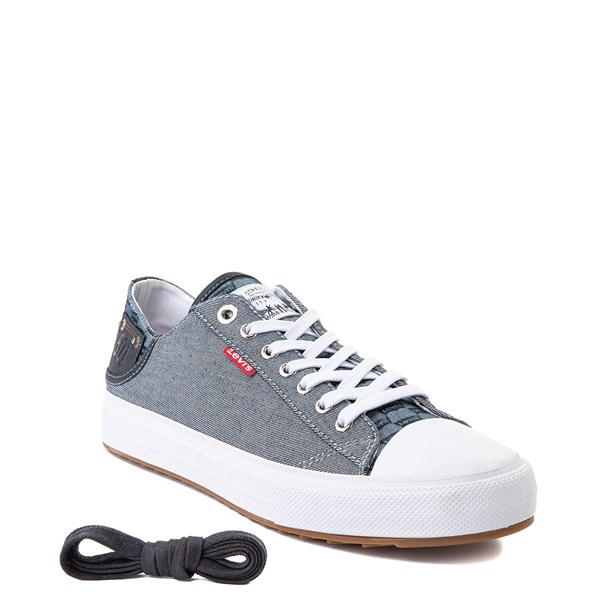 alternate image alternate view Mens Levi's Olympic Neil Casual Shoe - DenimALT1