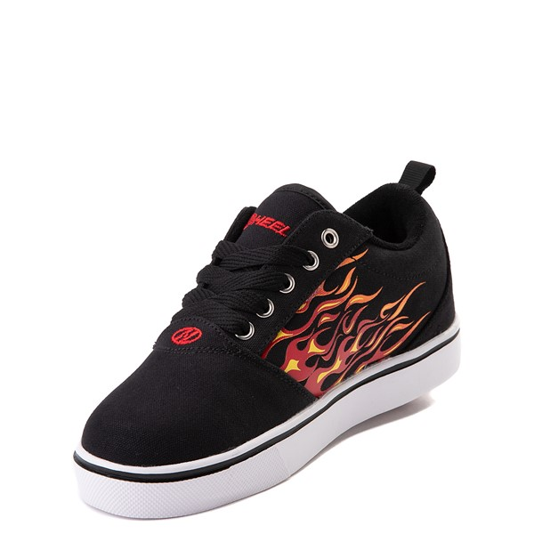 alternate image alternate view Heelys Pro 20 Flames Skate Shoe - Little Kid / Big Kid - BlackALT2