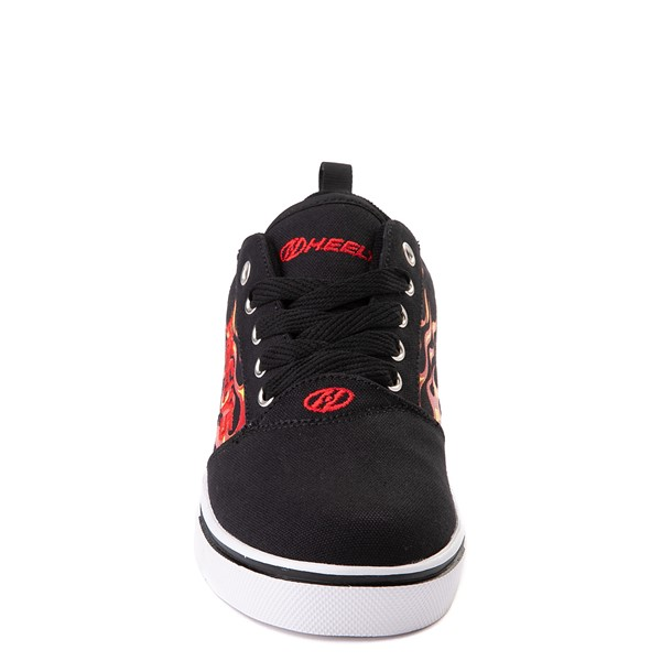 alternate image alternate view Heelys Pro 20 Flames Skate Shoe - Little Kid / Big Kid - BlackALT4