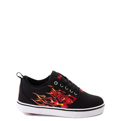Main view of Heelys Pro 20 Flames Skate Shoe - Little Kid / Big Kid - Black