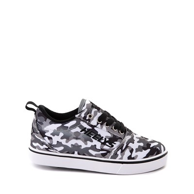 Main view of Heelys Pro 20 Skate Shoe - Little Kid / Big Kid - Grey Camo / Black