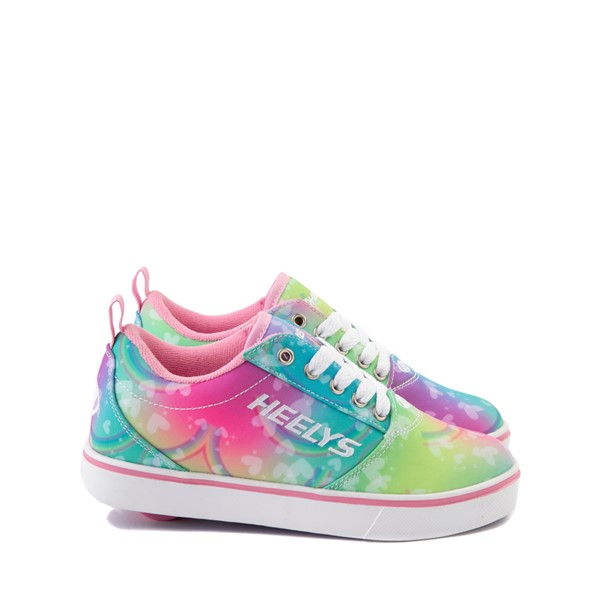 Main view of Heelys Pro 20 Tie Dye Rainbow Skate Shoe - Little Kid / Big Kid - Multi