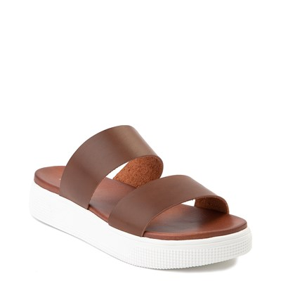 Alternate view of Womens MIA Saige Slide Sandal - Cognac