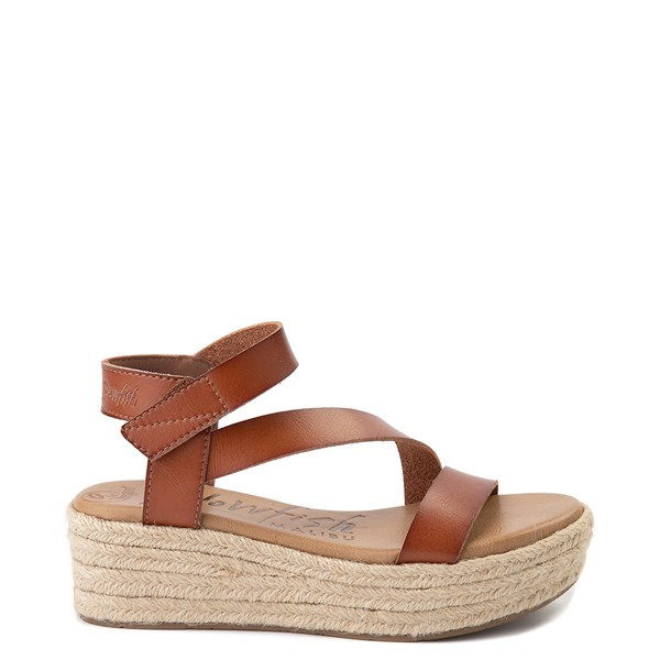 Womens Blowfish Lover Rope Wedge - Scotch