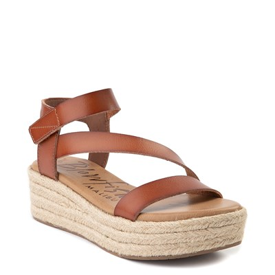 Alternate view of Womens Blowfish Lover Rope Wedge - Scotch