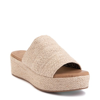 Alternate view of Womens Blowfish Leigh Wedge - Natural