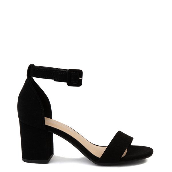 Womens Heart in D Cake-S Heel - Black