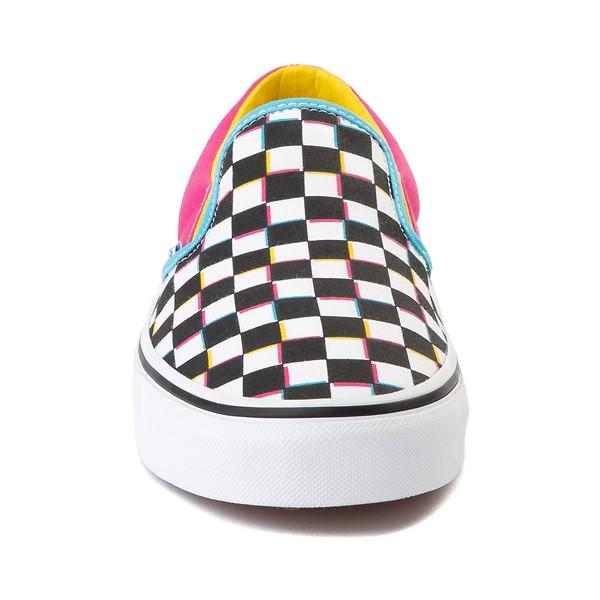 alternate image alternate view Vans Slip On Checkerboard Skate Shoe - MultiALT4