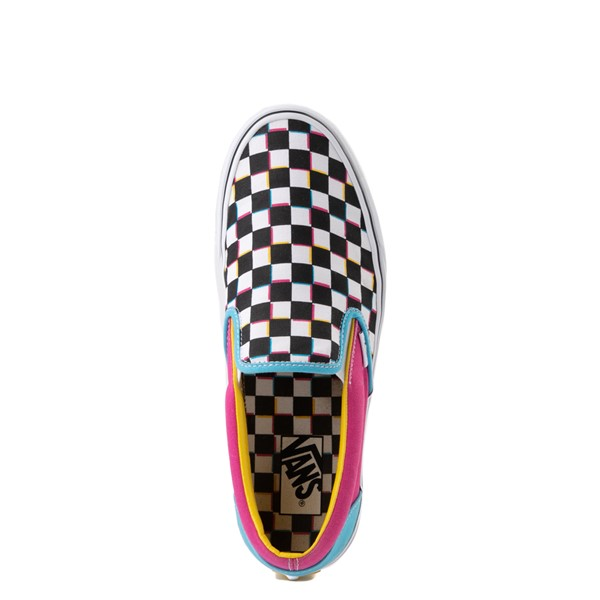 alternate image alternate view Vans Slip On Checkerboard Skate Shoe - MultiALT4B
