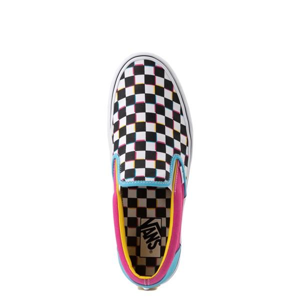 alternate image alternate view Vans Slip On Checkerboard Skate Shoe - MultiALT4B