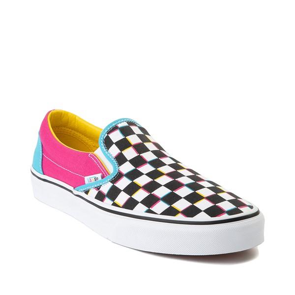 alternate image alternate view Vans Slip On Checkerboard Skate Shoe - MultiALT5