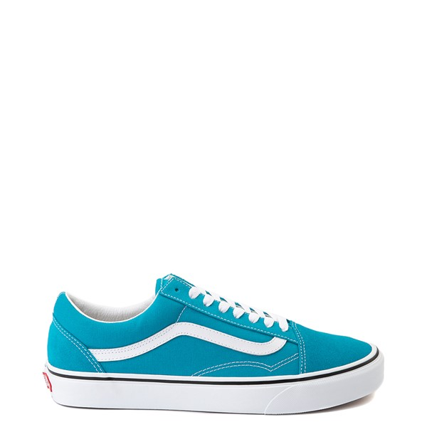 Main view of Vans Old Skool Skate Shoe - Caribbean Sea