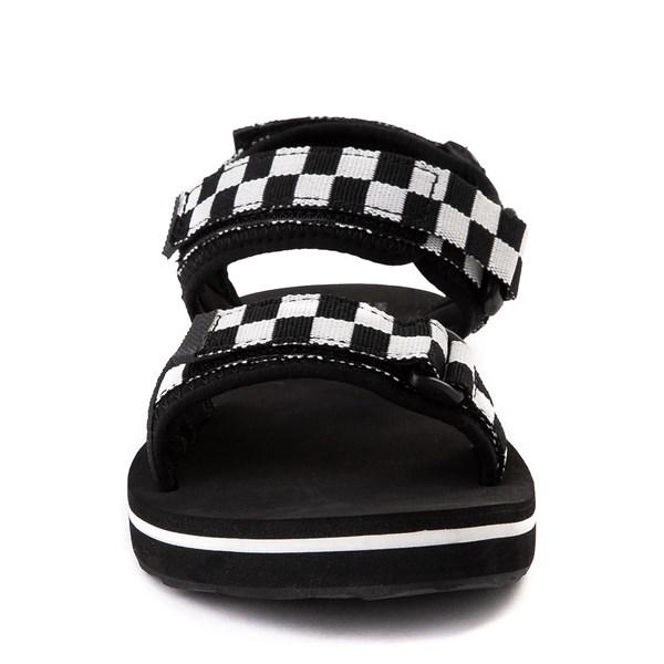 alternate image alternate view Womens Vans Tri-Lock Checkerboard Sandal - Black / WhiteALT4