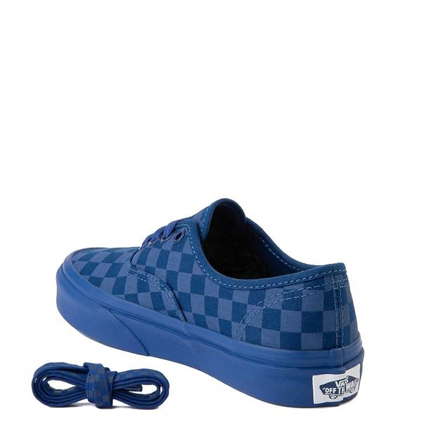 alternate image alternate view Vans Authentic Tonal Checkerboard Skate Shoe - Little Kid - True BlueALT1