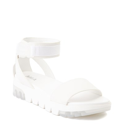 Alternate view of Womens MIA Ellyson Sandal - White