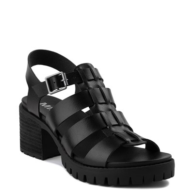Alternate view of Womens MIA Tahna Gladiator Sandal - Black