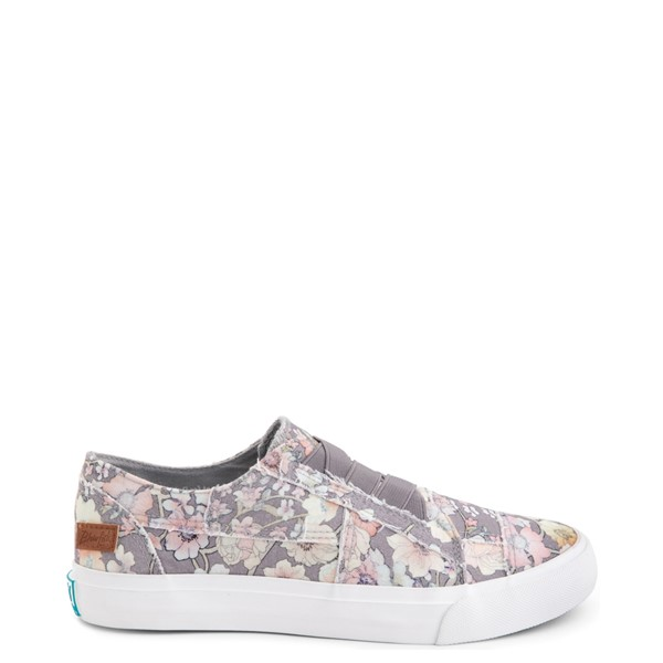 Womens Blowfish Marley Slip On Casual Shoe - Grey / Multi