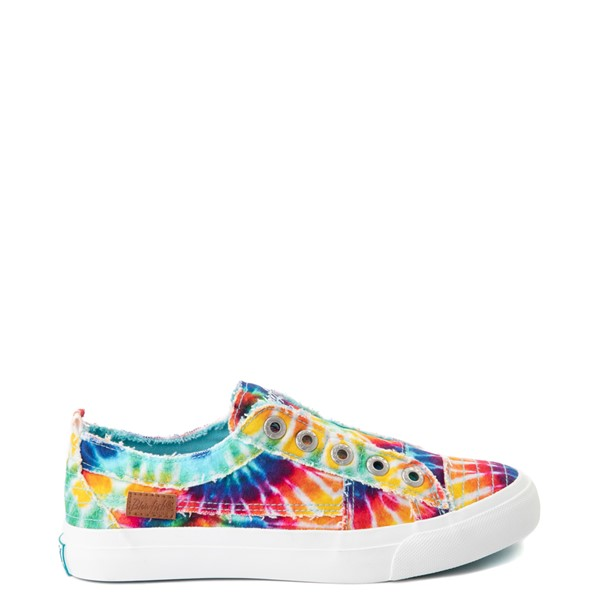 Main view of Womens Blowfish Play Slip On Casual Shoe - Tie Dye
