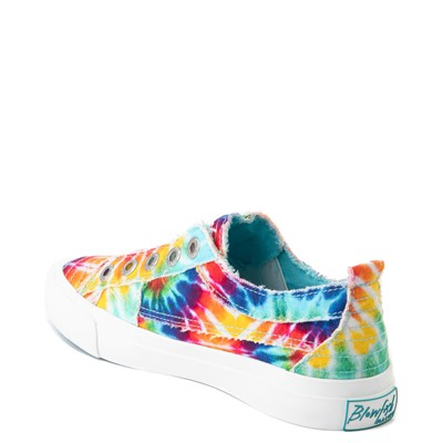 Alternate view of Womens Blowfish Play Slip On Casual Shoe - Tie Dye