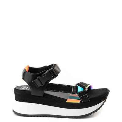Main view of Womens Dirty Laundry Greats Platform Sandal - Black