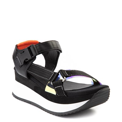 Alternate view of Womens Dirty Laundry Greats Platform Sandal - Black