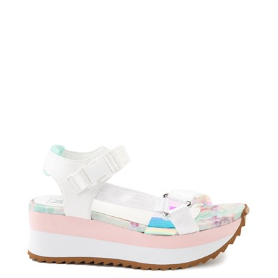 Main view of Womens Dirty Laundry Greats Platform Sandal - White