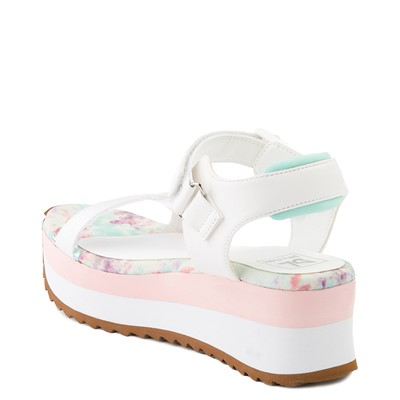 Alternate view of Womens Dirty Laundry Greats Platform Sandal - White