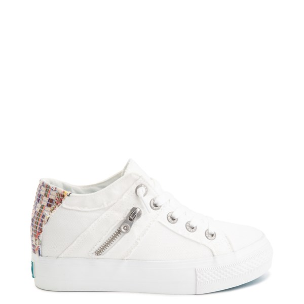Womens Blowfish Melondrop Slip On Casual Shoe - White Smoke