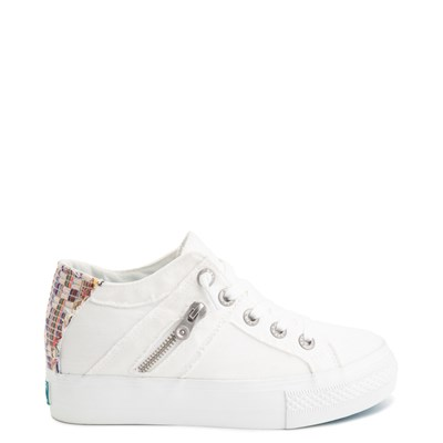 Main view of Womens Blowfish Melondrop Slip On Casual Shoe - White Smoke