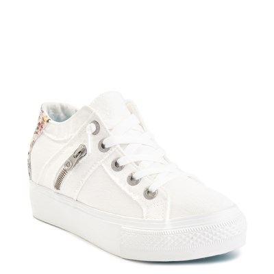 Alternate view of Womens Blowfish Melondrop Slip On Casual Shoe - White Smoke