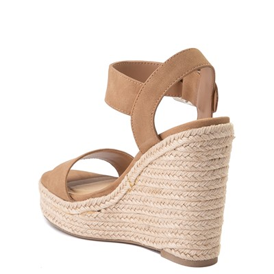Alternate view of Womens Heart in D Burst-S Wedge - Camel