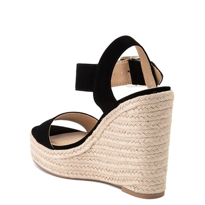 Alternate view of Womens Heart in D Burst-S Wedge - Black