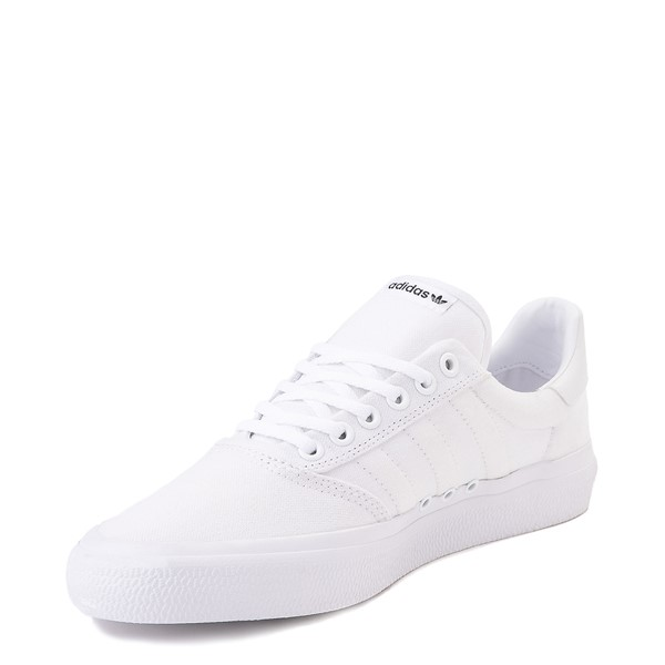 alternate image alternate view Mens adidas 3MC Skate Shoe - WhiteALT2