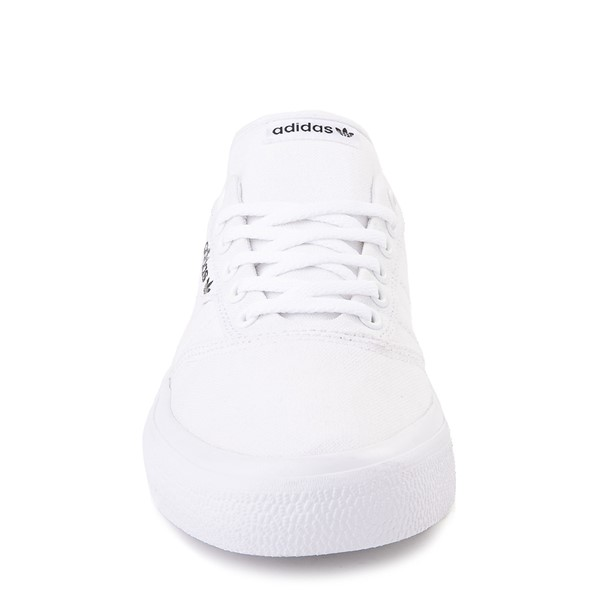 alternate image alternate view Mens adidas 3MC Skate Shoe - WhiteALT4