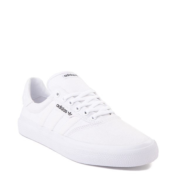 alternate image alternate view Mens adidas 3MC Skate Shoe - WhiteALT5
