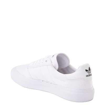 Alternate view of Mens adidas 3MC Skate Shoe - White