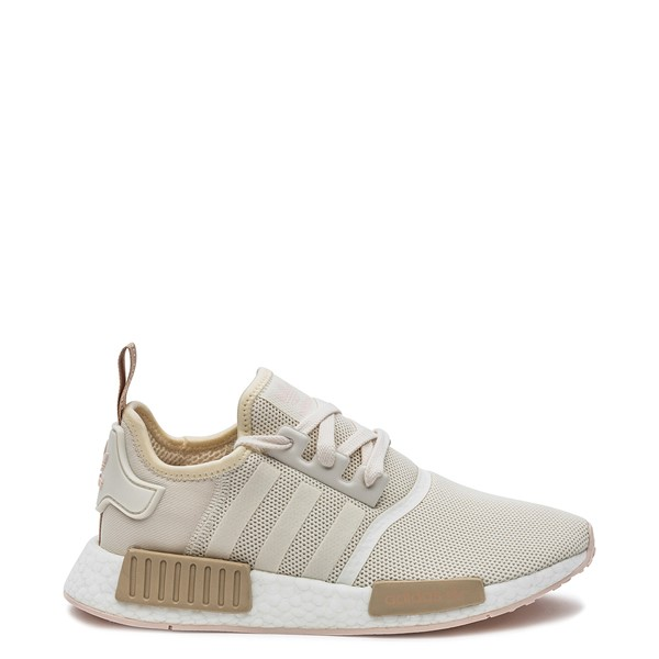 Main view of Womens adidas NMD R1 Athletic Shoe - Chalk / Rose