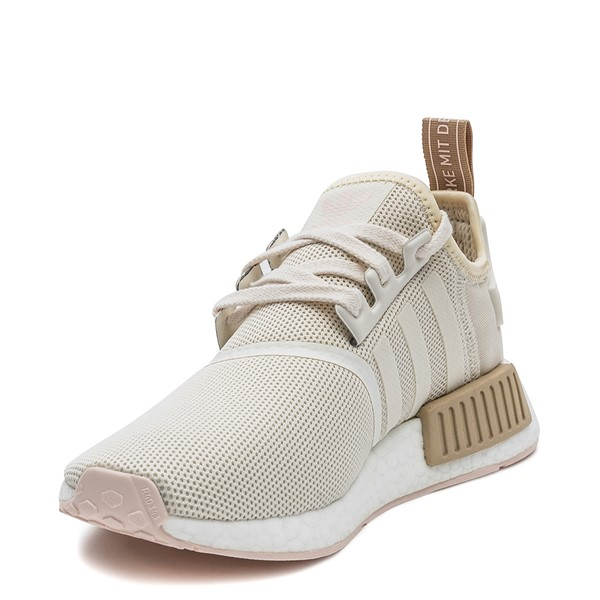 alternate image alternate view Womens adidas NMD R1 Athletic Shoe - Chalk / RoseALT3