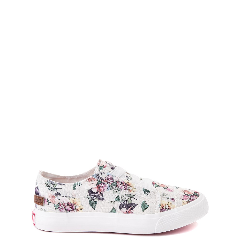 Blowfish Marley Slip On Casual Shoe - Little Kid / Big Kid - Grey / Floral