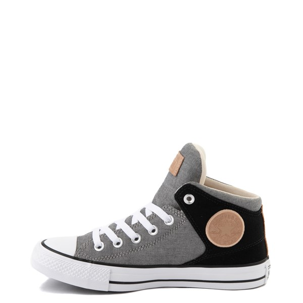 alternate image alternate view Converse Chuck Taylor All Star High Street Sneaker - Black / GreyALT1