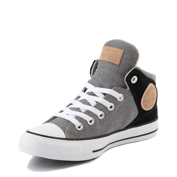 alternate image alternate view Converse Chuck Taylor All Star High Street Sneaker - Black / GreyALT2