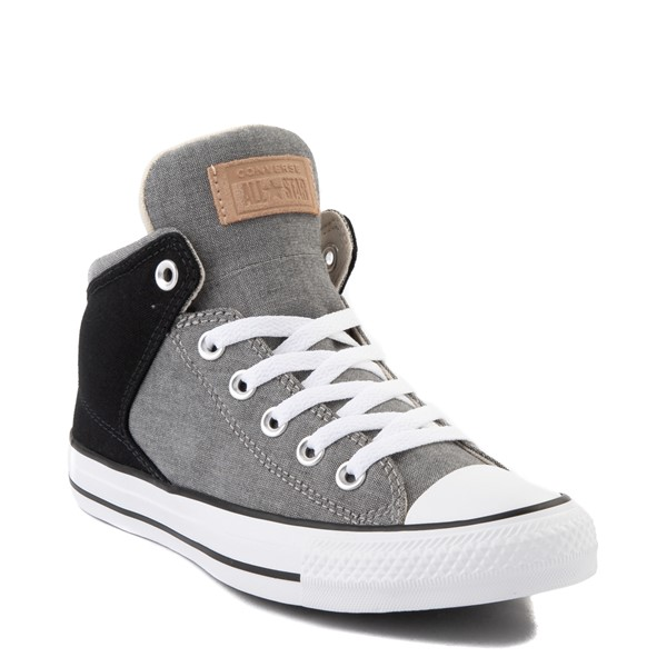 alternate image alternate view Converse Chuck Taylor All Star High Street Sneaker - Black / GreyALT5