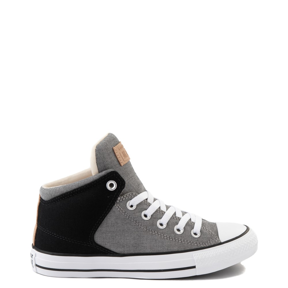 Converse Chuck Taylor All Star High Street Sneaker - Black / Grey