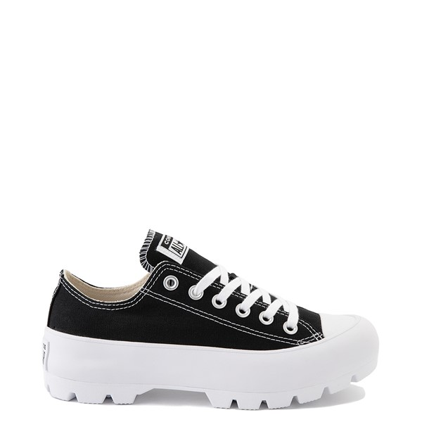 Main view of Womens Converse Chuck Taylor All Star Lo Lugged Sneaker - Black