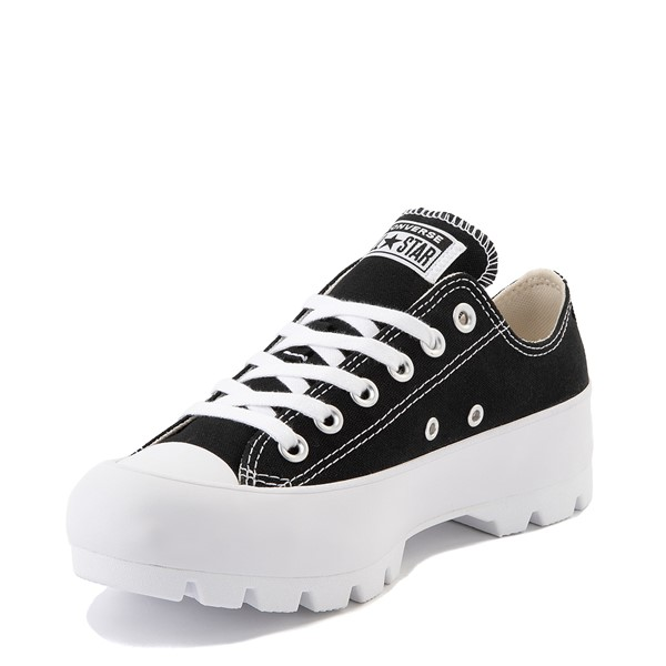alternate image alternate view Womens Converse Chuck Taylor All Star Lo Lugged Sneaker - BlackALT2