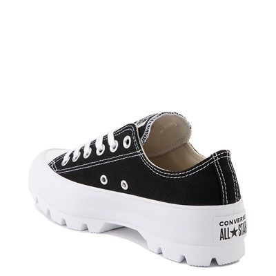 Alternate view of Womens Converse Chuck Taylor All Star Lo Lugged Sneaker - Black