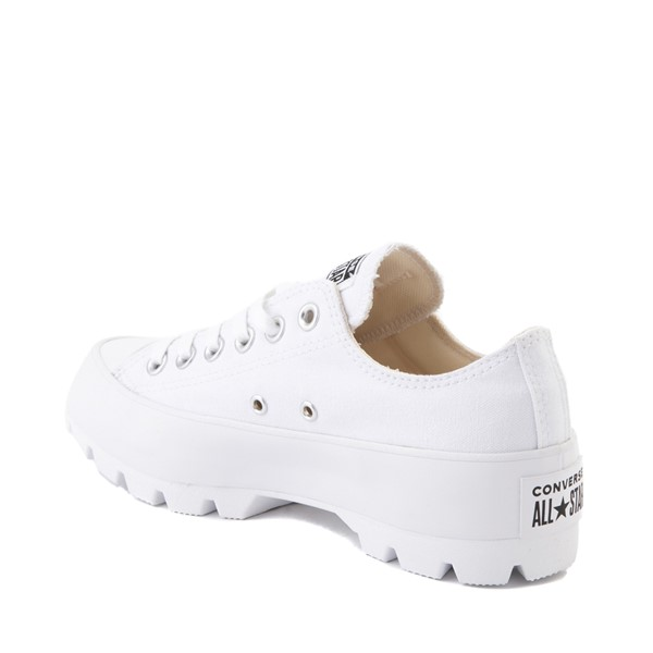 alternate image alternate view Womens Converse Chuck Taylor All Star Lo Lugged Sneaker - WhiteALT1