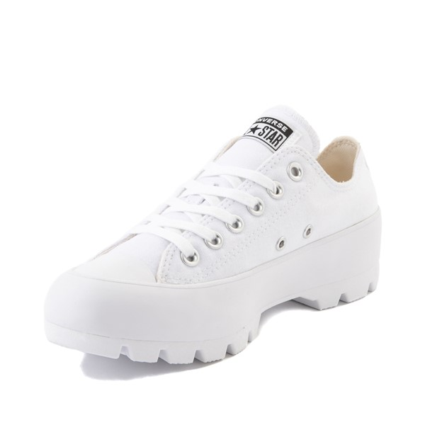 alternate image alternate view Womens Converse Chuck Taylor All Star Lo Lugged Sneaker - WhiteALT2